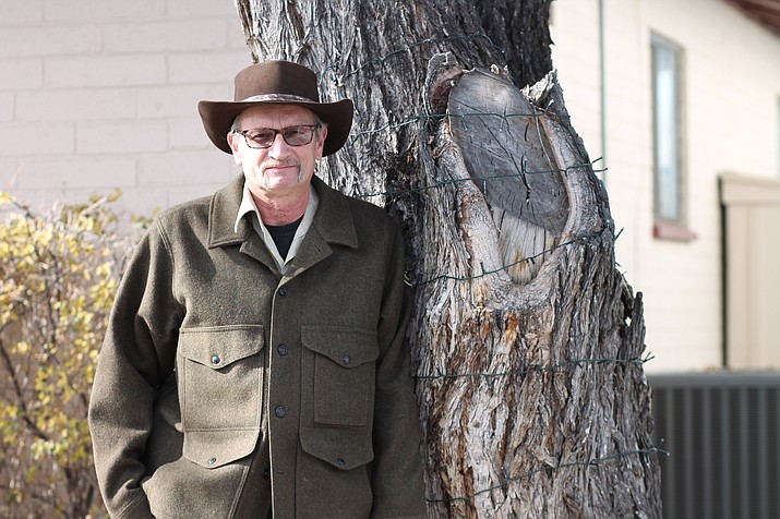 After deciding the military wasn't for him, Tom Dauenhauer, timber sales administrator for Kaibab National Forest, gained a new attitude of appreciation. (Erin Ford/WGCN)