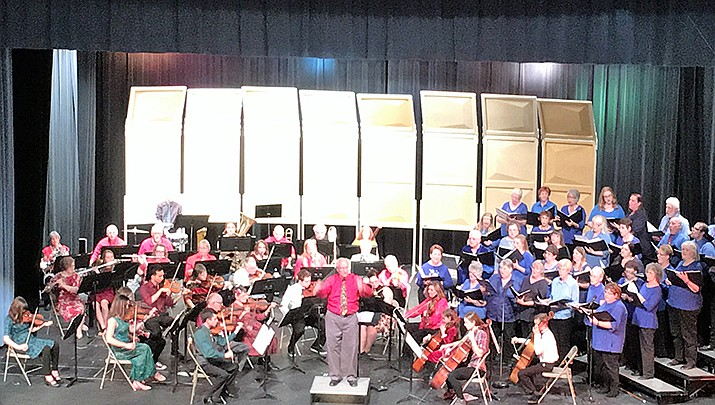 The Mohave Community Choir and the Mohave Community Orchestra are joining forces for their annual Christmas Festival Concert. (Courtesy)
