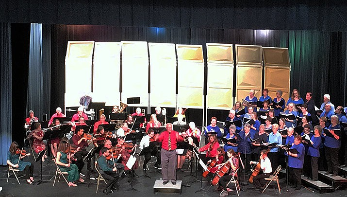 "Join Mohave Community Choir & Mohave Community Orchestra for their ""Christmas Festival Concert"" which will be held at Kingman High School, 4182 Bank St. from 3 to 5 p.m. on Saturday, Dec. 7. (Mohave Community Orchestra)"