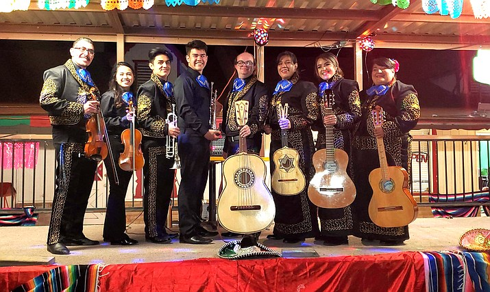 Mariachi Mar y Sol will perform the second of four Advent concerts Dec. 8 at St. John's Episcopal-Lutheran Church in Williams. (Submitted photo)