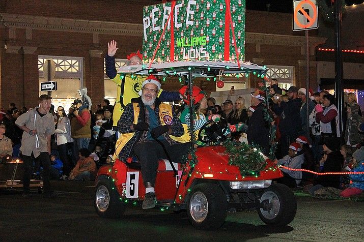 The 2019 Williams Christmas Parade was cancelled because of a major snow storm. (Wendy Howell/WGCN)