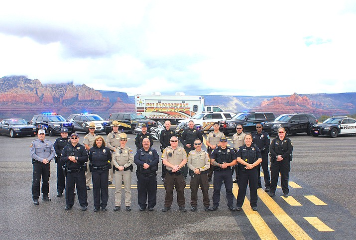 Eight Verde Valley law enforcement agencies will stage weekend DUI saturation patrols through December. Photo courtesy Rick Dembow