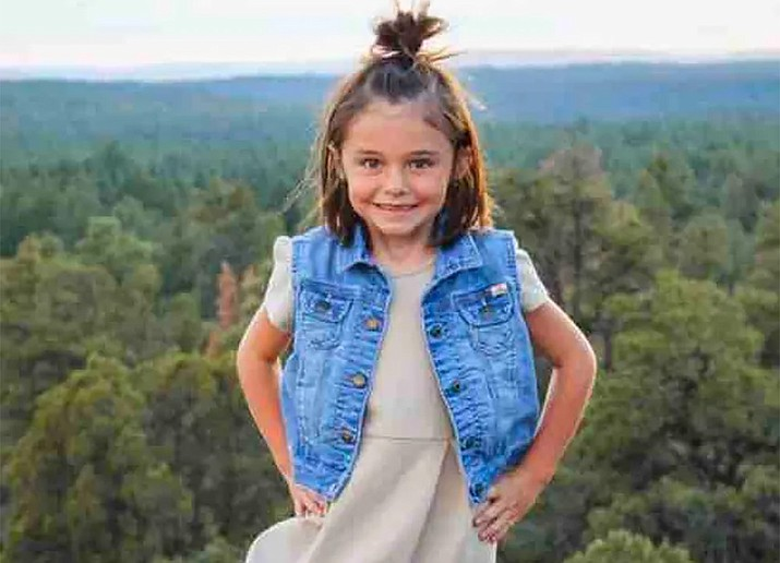Authorities are still searching for 6-year-old Willa Rawlings who was swept away by high water near Tonto Basin, Arizona on Friday, Nov. 29, 2019. (Photo courtesy of GoFundMe)
