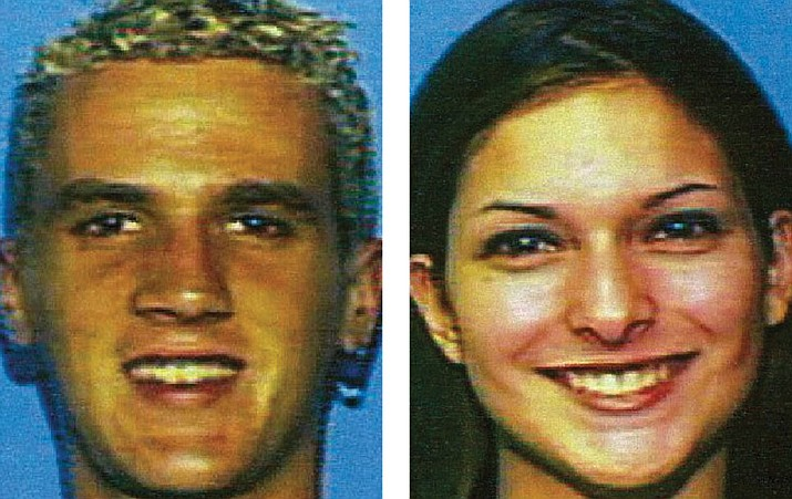 On Oct. 17, 2003, Brandon Rumbaugh and his girlfriend Lisa Gurrieri left Scottsdale for an overnight camping trip north of Phoenix and never came home. They were found dead in the bed of a Ford F-150 pick-up truck near Bumble Bee, Arizona. (Yavapai Silent Witness/Courtesy)