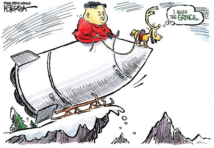 Editorial Cartoon | Dec. 6, 2019