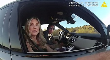 Head of Arizona DPS warned for driving 90 mph photo