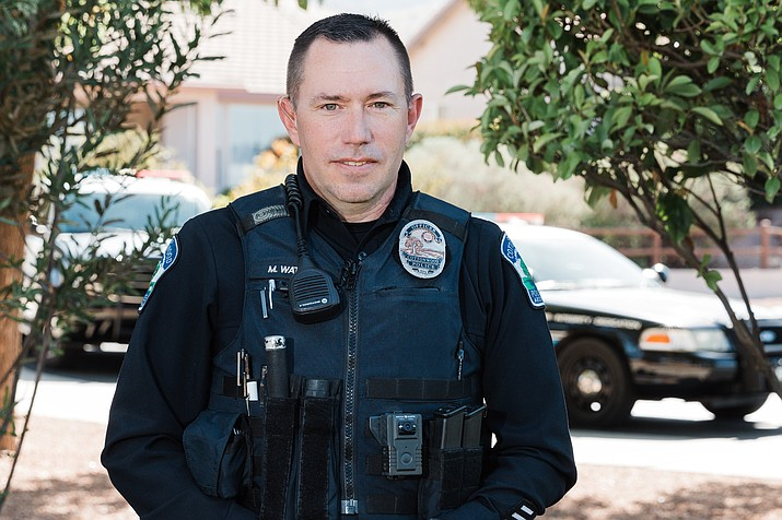 Matt Watson has been an officer with the Cottonwood Police Department for 14 years. Cottonwood PD courtesy photo