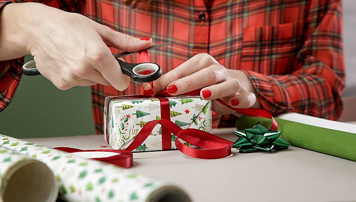 Gift wrapping is available at Prescott Gateway Mall, 3280 Gateway Blvd. across from Santa's Village from Dec. 9 through Dec. 24. (Stock image)