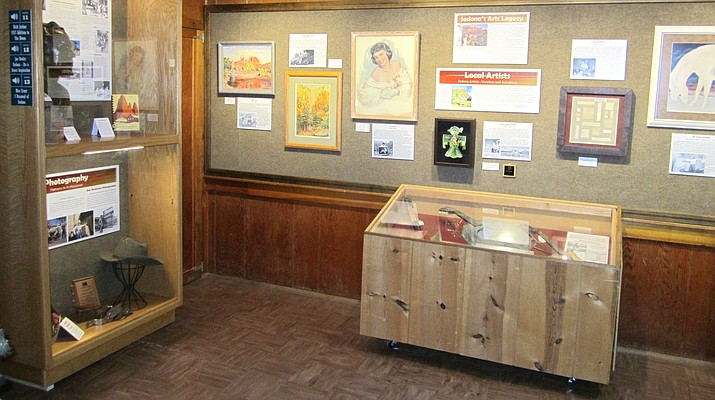 The Sedona Heritage Museum's new and permanent exhibit focuses on some of the people and organizations who have played key roles in Sedona's development as an arts mecca. It is meant to introduce museum visitors to some famous, infamous, and unassuming, but colorful artists of Sedona's past.