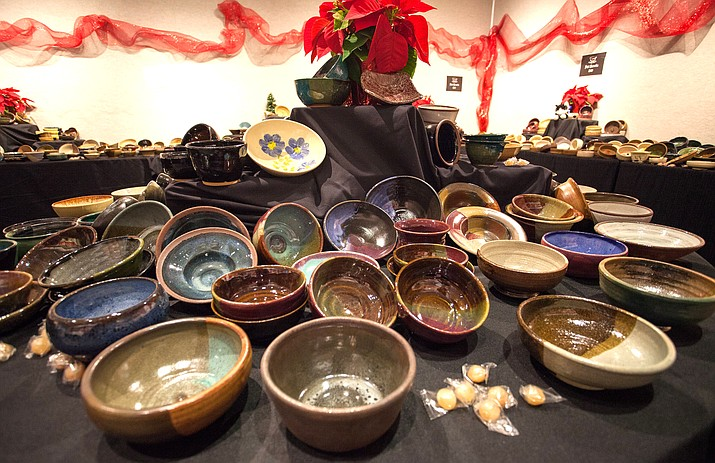 Loving bowls will take placed at the Historic Art Barn in Uptown Sedona. This fundraiser offers a beautiful selection of Loving Bowls for purchase, plus loads of food and fun. More than, 1,500 bowls have been made and glazed in a variety of finishes by professional volunteer potters. (SAC courtesy photo)