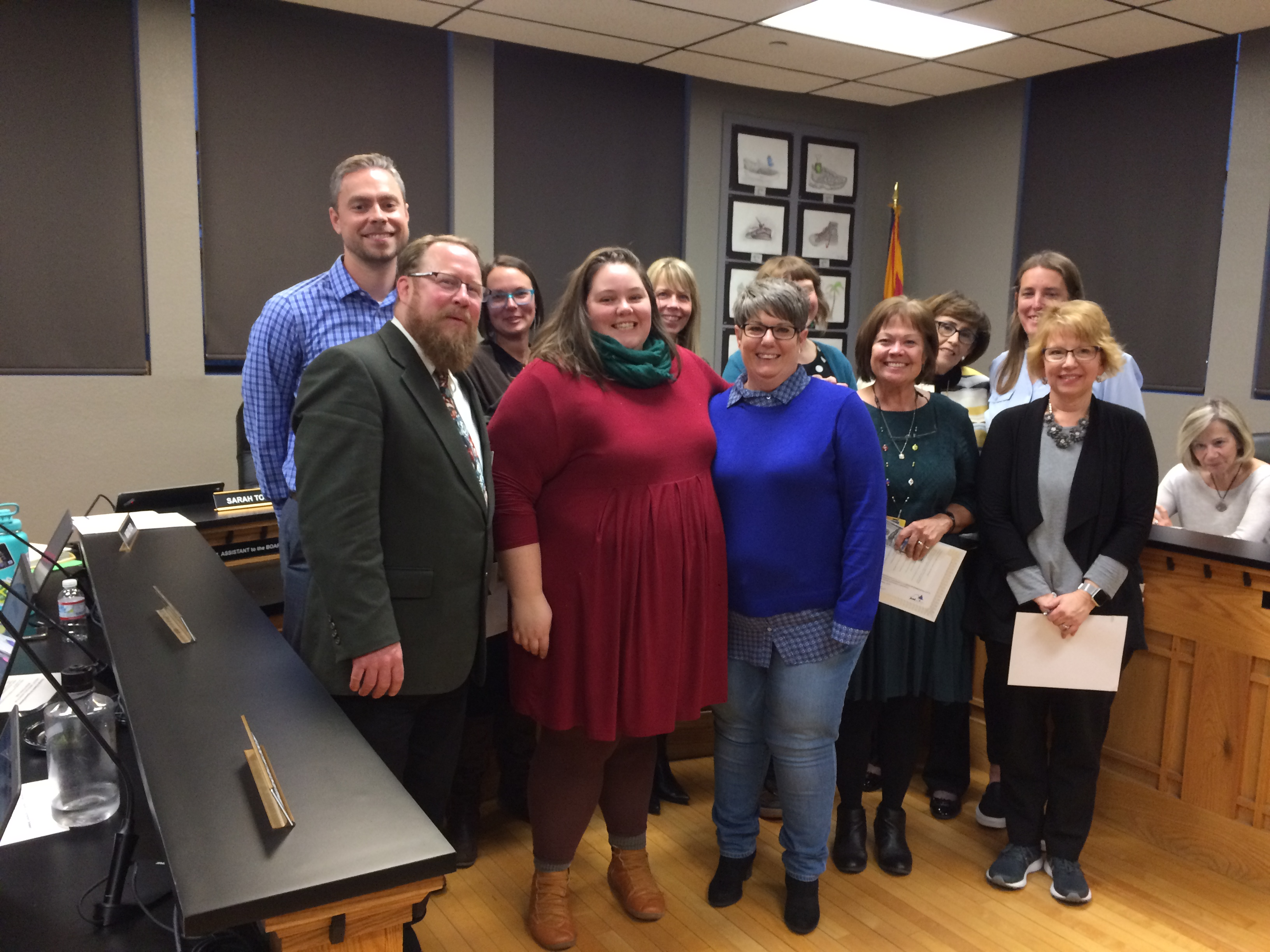 Going the extra mile: Prescott Unified faculty honored with awards