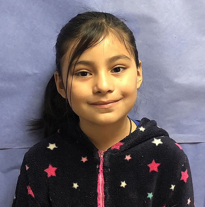 Amelia Estrada, this week's HUSD Student of the Week, is a very hardworking student who strives to complete all of her work on a daily basis. (HUSD/Courtesy)