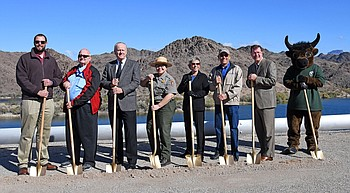 Agencies  break ground for new Arizona Heritage  Trail along  Colorado River photo