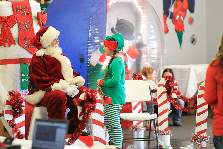 Santa Land takes place Dec. 14 from 10 a.m. - 1 p.m. (Wendy Howell/WGCN)