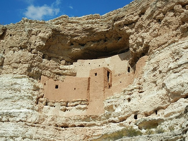 Montezuma Castle, located near Camp Verde. recently celebrated 113 as a national monument. (Photo/NPS)