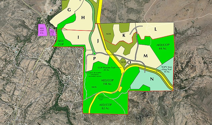 A proposal is on the table that would save the heart of the Granite Dells in exchange for enough water to develop upwards of 1,000 additional homes north of Highway 89A.