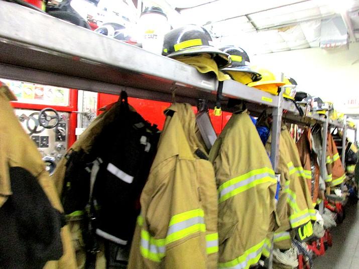 Tusayan Fire Department responds to calls in Tusayan, on Highway 64 to Valle. (Abigail Kessler/WGCN)