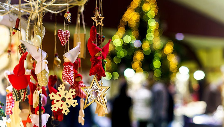 Come and get some holiday shopping done at the Christmas Craft Fair at Prescott Gateway Mall, 3250 Gateway Blvd. starting at 10 a.m. on Saturday, Dec. 14. (Stock image)