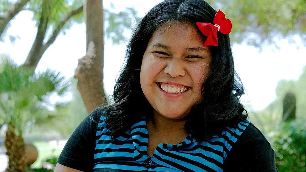 "Nelly is a bright girl with varied interests — from tent camping, to wind surfing on a lake, to reading and doing math. She is proud of receiving a trophy for earning an ""A"" in school. In her free time, Nelly likes to be outdoors playing soccer or walking her dog. Get to know her at https://www.childrensheartgallery.org/profile/nelly and other adoptable children at the childrensheartgallery.org."