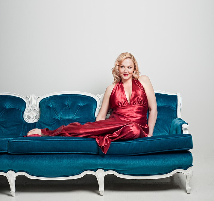 Storm Large headlines the holiday program at the Yavapai College Performing Arts Center with a Friday, Dec. 20 performance. (Courtesy)