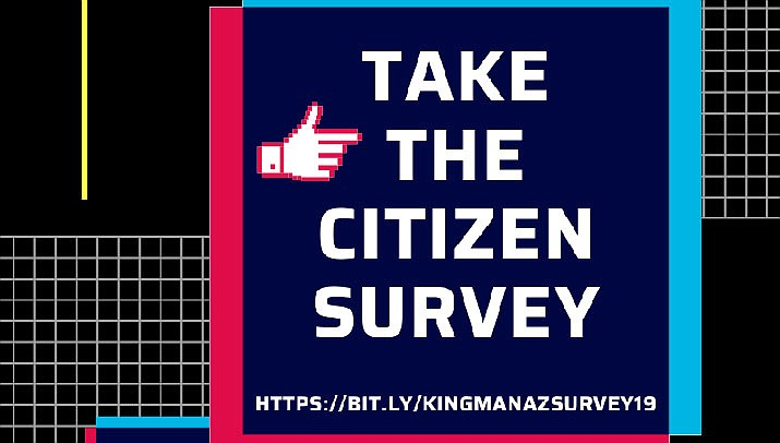 To participate in the survey, visit https://www.cityofkingman.gov/, or go to https://www.surveygizmo.com/s3/5338455/NCS-Kingman-AZ-2019-NONSCI to be directed to the survey itself. (Photo courtesy of the City of Kingman)
