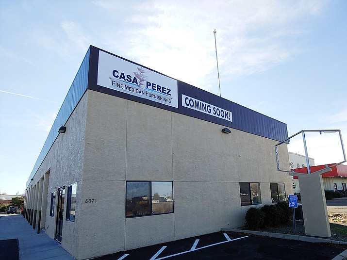 Juan Perez, owner of Casa Perez Family Mexican Restaurant in Prescott Valley, soon plans to open Casa Perez Fine Family Furnishings in the back of the former AAMCO auto repair building at 6871 E. First St. (Doug Cook/Courier)