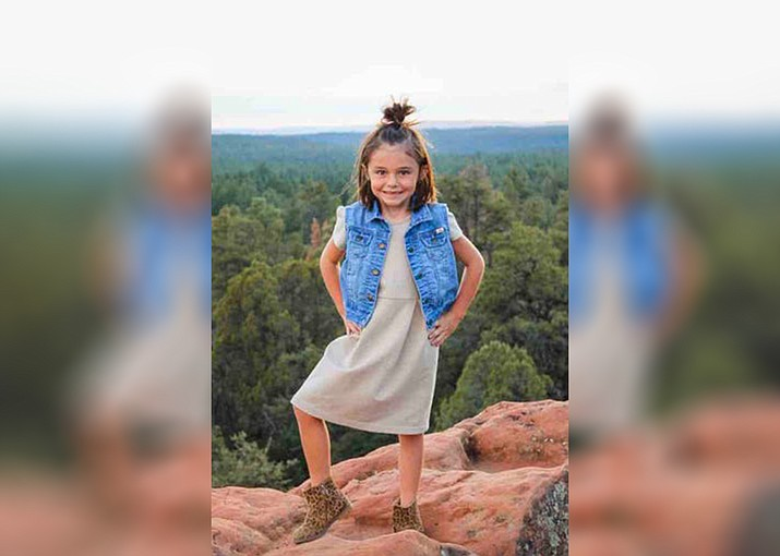 Willa Rawlings, 6, was swept away in storm flooding near Tonto Basin on Nov. 29, 2019. Her body was found by search crews on Friday, Dec. 13. (photo/GoFundMe)