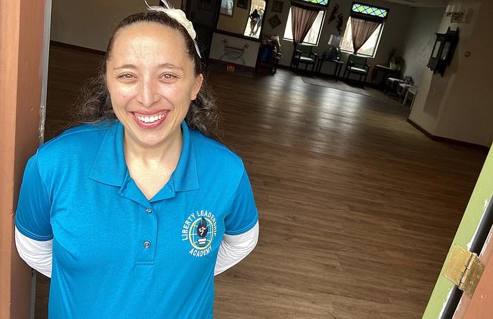 Liberty Leadership Academy plans to open its doors in fall 2020 to teach students in kindergarten through the fifth grade. Pictured, director Rachel Dubien. VVN/Bill Helm
