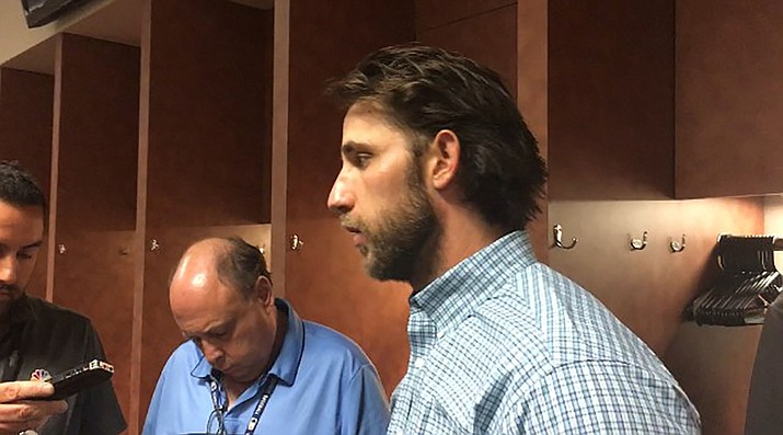 Madison Bumgarner is staying in the NL West, but with the D-backs. (Miner file photo)