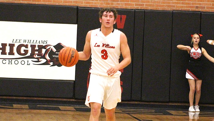 Kade Juelfs scored a team-high 19 points Monday, but the Vols dropped their second straight game in a 56-50 loss to Coconino. (Miner file photo)