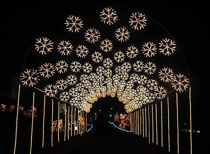The Valley of Lights holiday drive-through experience is located east of Fain Park, 2200 N. Fifth St. in Prescott Valley, from 6 to 10 p.m. every night through Monday, Dec. 30.