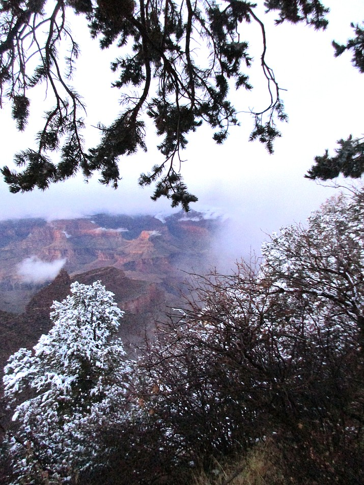 There are many activities to occupy the cold winter hours at Grand Canyon National Park and the gateway town of Tusayan. (Abigail Kessler/WGCN)