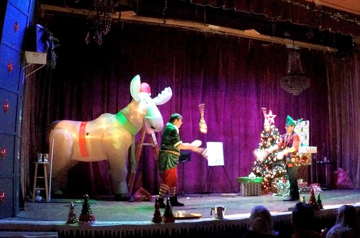 The North Pole's Got Talent features magic, juggling, stunts and more in an hour long performance. (Photos courtesy of The North Pole's Got Talent)
