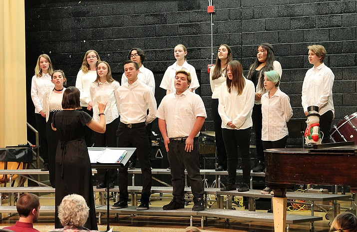Williams High School music students will conclude the 10th annual Christmas/Advent Concert series at St. John's Episcopal-Lutheran Church Dec. 22. (WGCN/photo)