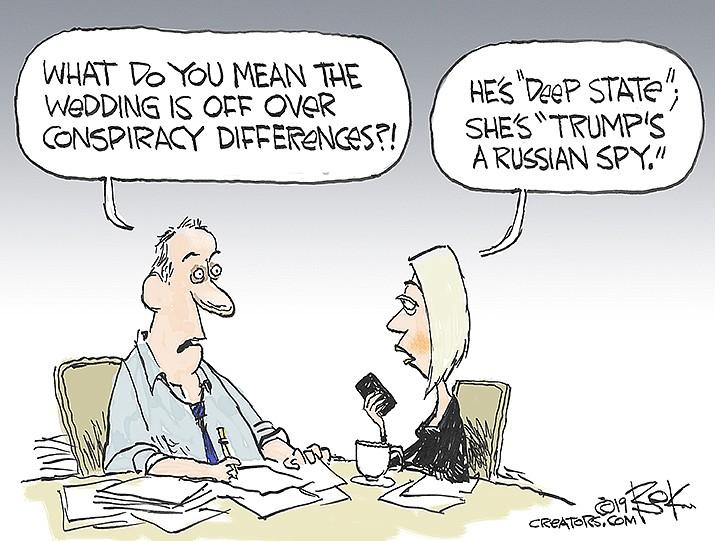 Editorial Cartoon | Dec. 20, 2019