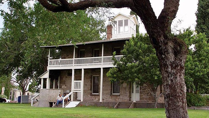 Take a guided tour through the past at the Bonelli House located at 430 E. Spring St. in Kingman. (City of Kingman, Office of Tourism)