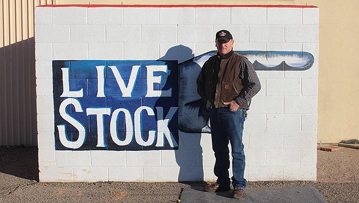 Mohave County Fairgrounds Manager Tim Woods photographed at the Fairgrounds on Thursday, Dec. 19. (Photo by Agata Popeda/Kingman Miner)