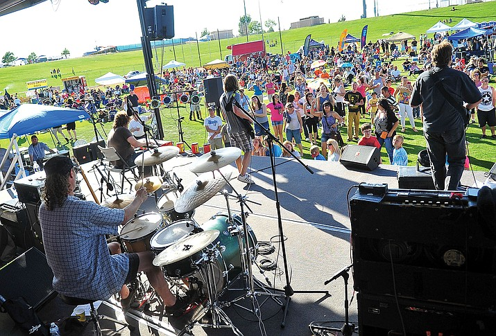 Filabusta performs during the 16th annual Battle of the Bands at Mountain Valley Park in Prescott Valley. (Courier file photo)