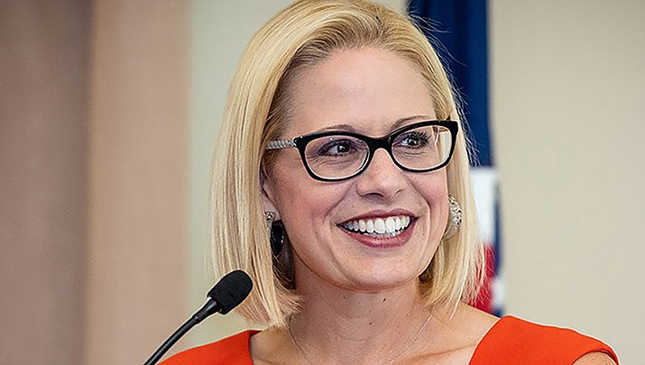 A bill has been introduced by U.S. Sen. Kyrsten Sinema (D-Ariz.) to make permanent a ban on new hard-rock mining claims in areas surrounding Grand Canyon National Park. (Office of Sen. Kyrsten Sinema photo)