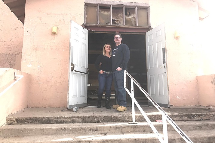 Bob Conlin and his wife, Ashlee, spent much of 2019 overcoming historic preservation and practical challenges and now plan to open a two-story brew pub in a 1928 building that has been a recreation center, auto dealership and at least two types of churches. VVN/Jason W. Brooks