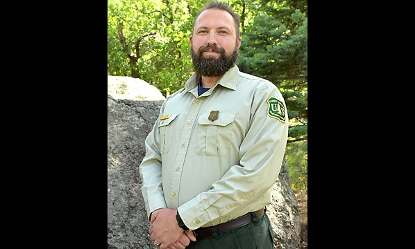 "James ""Jim"" Burton, who serves as the assistant fire management officer for the Williams Ranger District, was the recipient of the Regional Forester's Excellence in Safety and Occupational Health Award for the Southwestern Region of the Forest Service. (Photo/Kaibab National Forest, USFS)"