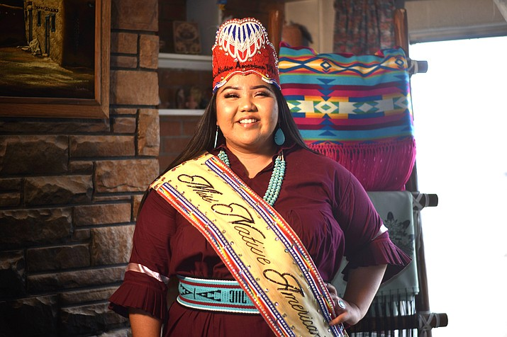 Lexie Michael James is the reigning Miss Native American USA 2019-2020. James has made it her mission to advocate for the importance of suicide prevention and mental health wellness. (Photo/Aeon Winter Albert)