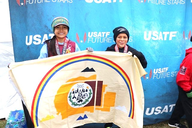 Layla Curtis earned All American status for her 21st place finish in the 8 and under girls race at the USATF National Junior Olympic National National Cross Country Championship. (Submitted photo)