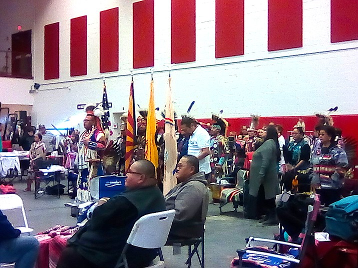 The First Nations held a student organized Pow Wow at it's main campus Dec. 7. (Photo/Navajo Technical University)