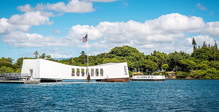 The acting U.S. Navy secretary announced Monday that one of the newest attack nuclear submarines will be named after the USS Arizona battle cruiser that was destroyed when the Japanese attacked Pearl Harbor in 1941, and is the namesake of a Hawaii memorial. Adobe stock photo
