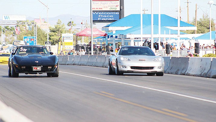 The Kingman Route 66 Street Drags made a triumphant return to town in 2019. (Miner file photo)