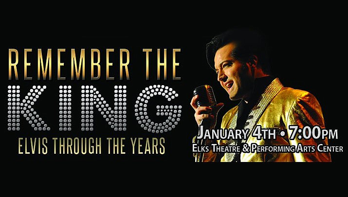 "Come and ""Remember the King"" at the Elks Theatre Performing Arts Center, 117 E. Gurley St. in Prescott at 7 p.m. on Saturday, Jan. 4. (Lonely Street Productions)"