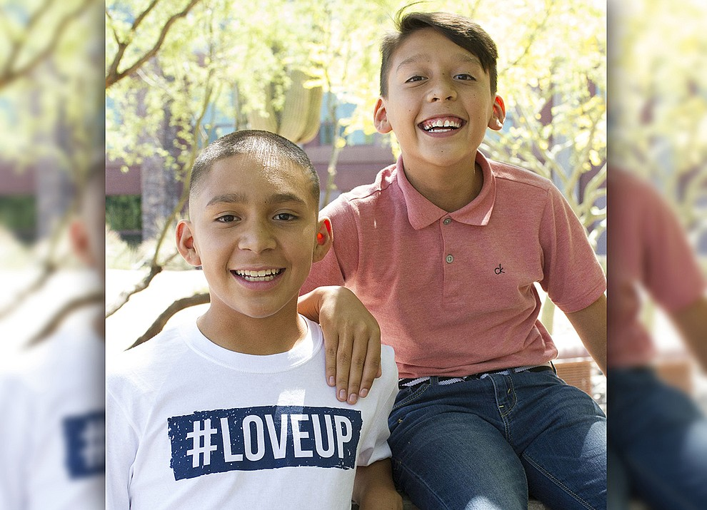 "Angel and Juan are two adorable, fun-loving brothers who love football, basketball, video games, action movies and bike riding. While a ""football family"" would be amazing, Angel and Juan hope for a family with lots of love who enjoy spending time together. Get to know these brothers at https://www.childrensheartgallery.org/profile/angel-and-juan and other adoptable children at the childrensheartgallery.org."