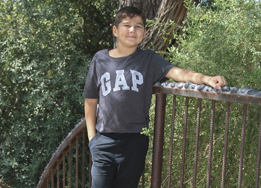 "Owen is a funny, active boy who loves playing outside or enjoying a game of ""Sorry!"". He likes going to Sunday School and listening to worship music. Owen wants everyone to know his favorite sports teams are the Steelers, Diamondbacks and the Golden State Warriors. Get to know him at https://www.childrensheartgallery.org/profile/owen-g and other adoptable children at the childrensheartgallery.org."