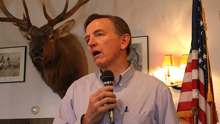If Arizona adds a congressional seat after the 2020 U.S. Census, which seems likely according to new U.S. Census Bureau statistics, it could result in the creation of a river district that stretches south to Yuma. That could have an impact U.S. Rep. Paul Gosar (R-Prescott), who currently represents Kingman in the U.S. House of Representatives. (Miner file photo)